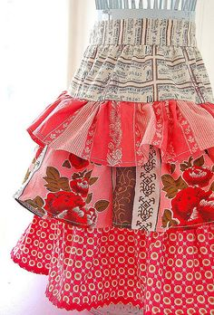 ruffled skirt... make full apron!
