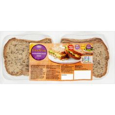 Buy Tesco Free From Multiseeded Sliced Bread (400g) online in Tesco at mySupermarket (€1,66) found on Polyvore