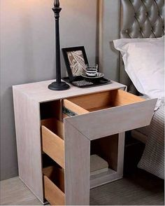 Antique Silver Wood Nightstand Oak wood Special measures This piece of furniture can be made in spec