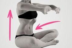Elegendő, ha minden reggel behúzod a hasad. Fitness Workouts, Yoga Fitness, Health Fitness, Yoga Musica, Natural Clothing, Qi Gong, Abdominal Muscles, Keep Fit, Slim Body
