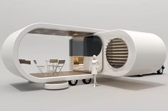 New Zealand new age caravan design called the Romotow | Stuff.co.nz ***Research for possible future project. (new age teardrop...)