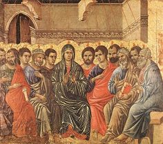 Pintura gótica italiana, Duccio, Ultima cena. Paloma Súárez