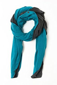 Mamachic DoitAll Nursing Scarf TealCharcoal * Click image for more details.
