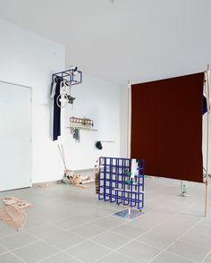 """""""Objets mouvants - Grilles, Signes & Californiens"""" Atelier logement / Cédric Canaud / 2019"""