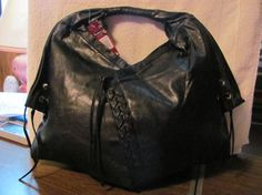 NWT Persada Womens Faux Leather Shoulder/Satchel Handba is going up for auction at  6am Fri, Mar 22 with a starting bid of $17.