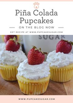 Sugar Chooses Her Words & These Piña Colada Pupcakes Sweet Treats What started off as a dream has gr Dog Cake Recipe Pumpkin, Easy Dog Cake Recipe, Cupcakes For Dogs Recipe, Pupcake Recipe, Dog Cake Recipes, Dog Cupcakes, Dog Treat Recipes, Dog Food Recipes, Diy Dog Treats