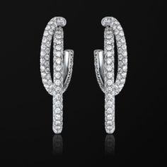 White gold Diamond Earrings G38PY100 - Piaget Luxury Jewelry Online
