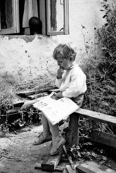 Всегда любил читать - Always love to read    source unknown