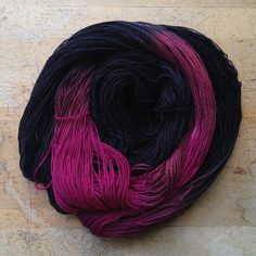Amy's hand dyed yarn in the evening class with @Lorna Riojas's Laces by make_something, via Flickr