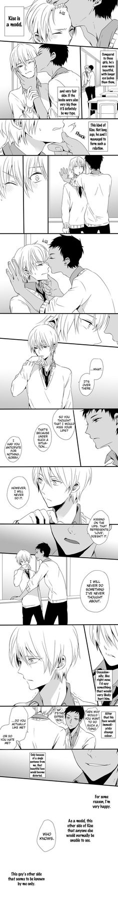 Stop fucking off, Aomine :')   [AoKise / Angst / too much for mah heart / Yaoi / Kuroko no Basuke / Generation of Miracles - Teikou Middle School]