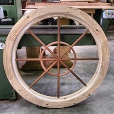 Circular window. Master Bath, Woodworking, Joinery, Wood Working, Woodworking Projects, Carpentry, Woodworking Crafts, Woodwork