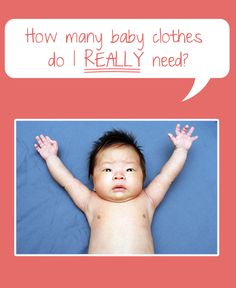 How Many Baby Clothes Do I Need? – the Newborn Essentials #nesting