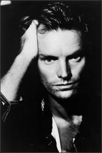 Sting. i have this as a very large poster on my door!