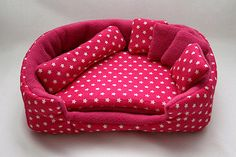 cosy cuddle lounge / bed with waterproof blanket and 5 pillows stars on pink/pink) on Etsy, $28.30
