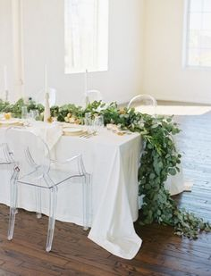23 Romantic Organic Inspired White And Green Wedding Ideas