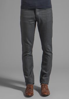 UNITED STOCK DRY GOODS Slight Tonal Stitch in Gray at Revolve Clothing - Free Shipping!