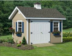 x Studio Guest House W/ Floor Kit The Studio Guesthouse is not your typical shed; it is an upscale garden building. The beautiful building shell can serve as a great studio guesthouse garden building gift shop office den outdoor storage bui Garden Shed Kits, Garden Storage Shed, Storage Sheds, Tool Storage, Backyard Storage, Backyard Sheds, Outdoor Sheds, Cabana, Guest House Shed