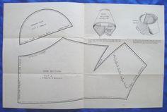 vintage Good Housekeeping TWO TONE FELT HAT millinery accessory sewing pattern   eBay