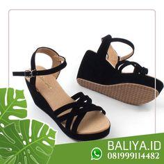 Jual Sandal Wedges Sandal Wedges, Wedge Sandals, Bali, Heels, Model, Fashion, Heel, Moda, Wedge Flip Flops