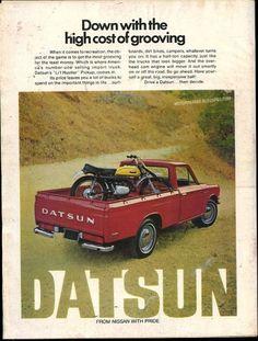 little red Datsun.........