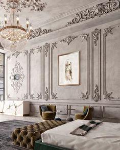 Classic Home Decor, Elegant Home Decor, Classic Interior, Luxury Home Decor, Elegant Homes, Luxury Interior, Cheap Home Decor, Bedroom Classic, Home Design