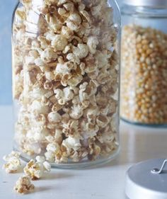 Cinnamon Sugar Popcorn | Your guests will love these sweet and savory upgrades to this movie theater classic. All recipes serve four to six people.(Excerpted from Party Popcorn: 75 Creative Recipes for Everyone's Favorite Snack. Reproduced by permission of Houghton Mifflin Harcourt. All rights reserved.)