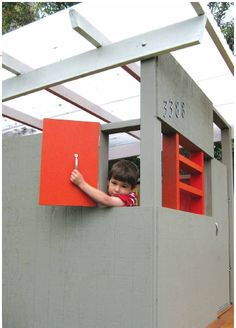 play modern playhouses | Mid Century Modern Playhouse of Awesome Atomic Ranch | Apartment ...