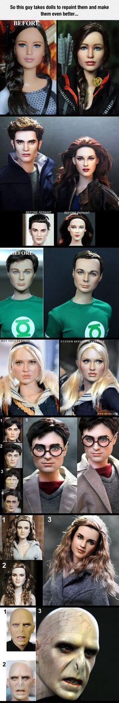 Amazingly Realistic Dolls