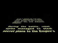 The Star Wars original opening crawl sequence has become an unmistakable classic, effective in a simple yet grand introduction to what would inevitably be an epic story. Star Wars Opening, Rogue One Star Wars, Anthology Film, Digital Film, Opening Credits, Epic Story, Title Sequence, Music Composers, Movie Titles
