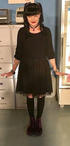 """""""Loved Abby's sweater/ballerina dress (and shoes!) at NCIS today! Ncis Abby Sciuto, Louisiana, New Orleans, Kensi Blye, Ncis Cast, Pauley Perrette, Paula Patton, Ballerina Dress, Olga Kurylenko"""