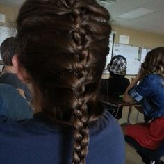 Photo by blazesymone my best try add a French braid or as I call it is an inwards braid