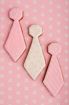 Tie Cookies :) great for fathers day