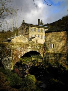 Hardcastle Crags, West Yorkshire, England.