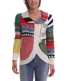 Look at this Verde Loro Same Cardigan on #zulily today!