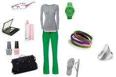 casual, created by luckymom317 on Polyvore