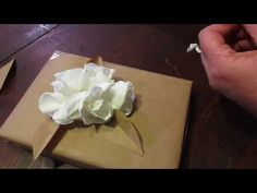 YouTube Cute Box, Brown Paper, Quilling, Decoration, Confetti, Origami, Arts And Crafts, Gift Wrapping, Packaging