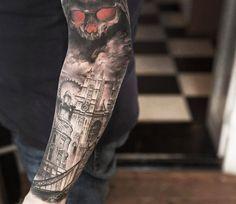 Realistic Tattoo by Niki Norberg | Tattoo No. 13904