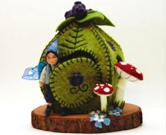 Blueberry fairy ~ waldorf doll by lavender & lark