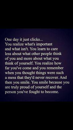 YES!! I think its maturity