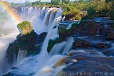 Iguazu Wasserfälle, Subtropisch, Iguazu Nationalpark, Iguacu, Kraftvoll