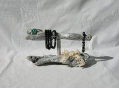 Standing bracelet holder organizewood storage di H2ONDE su Etsy
