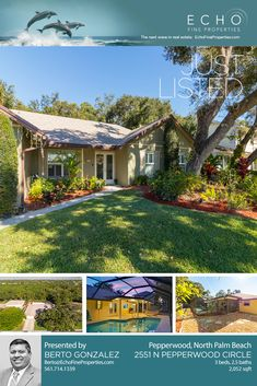 Gorgeously remodeled just minutes from the beach  🏖️Just 6 mins to the beach 🏊Private Pool & Yard 🏞️Peaceful Preserve Views  3🛌 2.5🛁 in Pepperwood  Contact Berto Gonzalez Palm Beach Real Estate Consultant for info: ☎️561.714.1339 ✉️Berto@EchoFineProperties.com  #EchoFineProperties #FloridaRealEstate #FloridaHomes #NorthPalmBeach