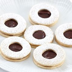 Ghirardelli Baking: Chocolate Almond Cookies Recipe