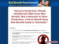 awesome #Bad Breath Free Forever - The 100% Natural Remedy For Bad Breath!