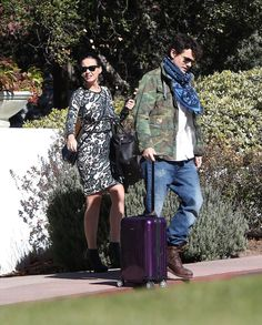 Two more RIMOWA fans – musician John Mayer and Katy Perry