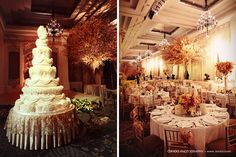 love the flower arrangements on the tables