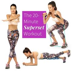 The 20-Minute Superset Workout