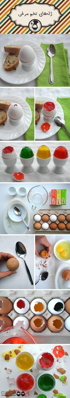 ژله های تخم مرغی