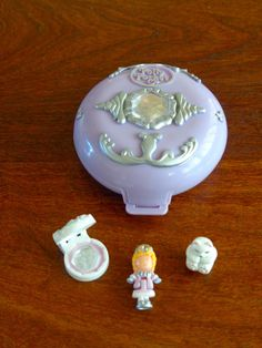 Vintage Polly Pocket Bluebird Ice Kingdom Complete Original Doll Bear Jewel | eBay