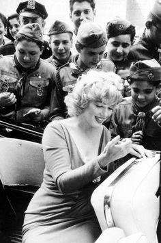 """cosmosonic: """" Marilyn Monroe """""""
